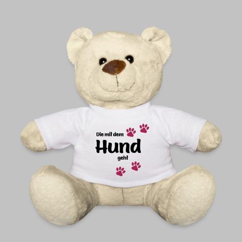 Die Mit Dem Hund Geht - Edition Colored Paw - Teddy