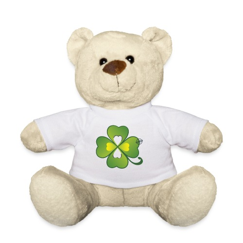 Clover - Symbols of Happiness - Teddy Bear