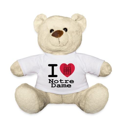 I love Notre Dame - Teddy