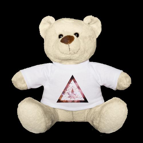 Galaxy Weed Marijuana Triangle Splashes - Teddy