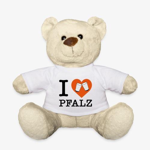 I love Pfalz – Dubbeglas - Teddy