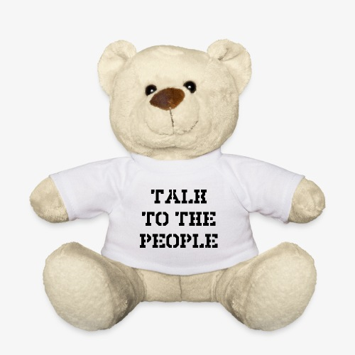 Talk to the people - schwarz - Teddy