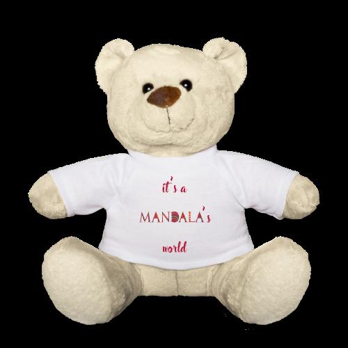 It's a mandala's world - Teddy Bear
