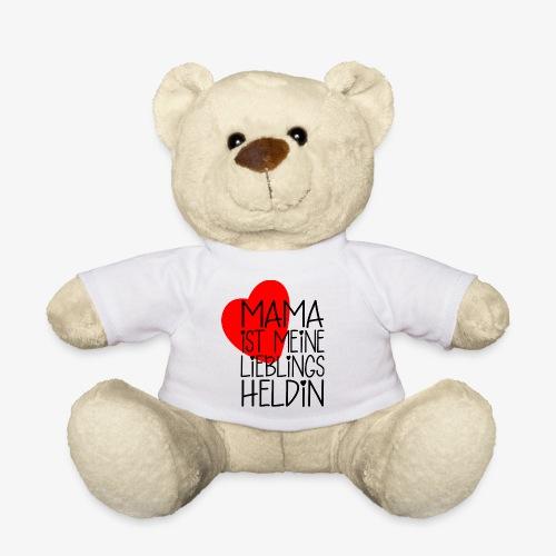 Mama Lieblings Heldin Geschenkidee - Teddy