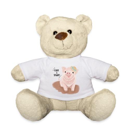 Cute & Smart Pig - Teddy Bear