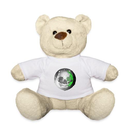 Rigormortiz Metallic Silver-Green Design - Teddy Bear