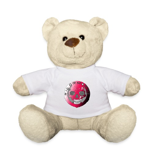 Rigormortiz Metallic Pink Design - Teddy Bear