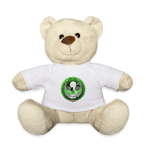 Rigormortiz Metallic Green Design - Teddy Bear