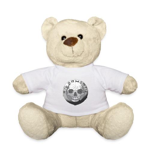 Rigormortiz Black and White Design - Teddy Bear