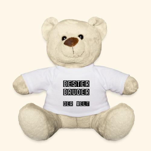 Teddybär bester Bruder, Geschenkidee für Bruder - Teddy
