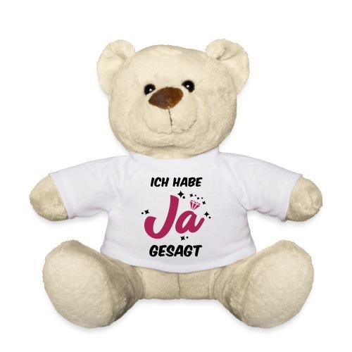 Ich habe JA gesagt - JGA T-Shirt - JGA Shirt - Teddy