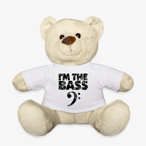 I'm the Bass Vintage Black (Clef) - Teddy