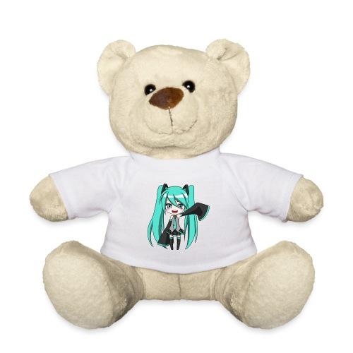 Happy Chibi Miku - Teddy Bear