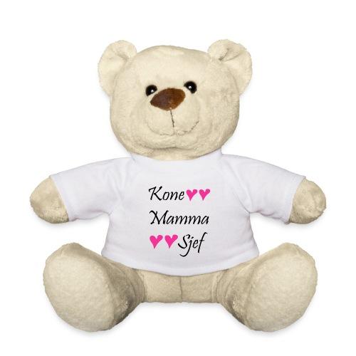 Kone Mamma Sjef - Teddybjørn