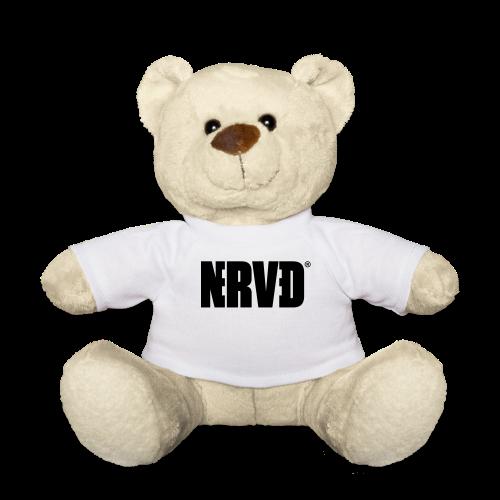 Official Nerved® Logo Black - Teddy Bear
