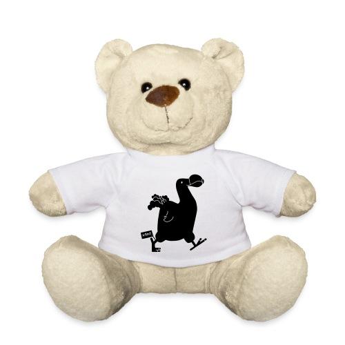 Hellgrau meliert Schwarz Seekuh - Riesenseekuh - Teddy