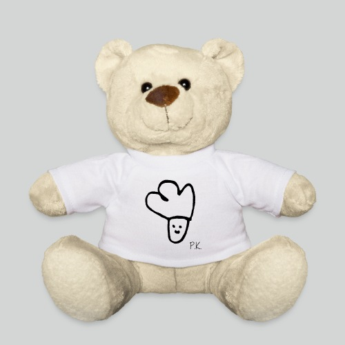 P K schwarz mit Schrift png - Teddy