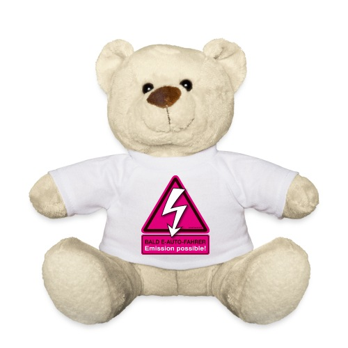 Bald E-AUTO-Fahrer - Emission possible - Teddy