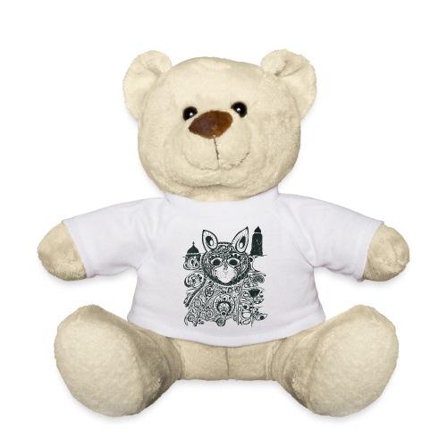 The Heart Is A Golden Fractal - Teddy Bear