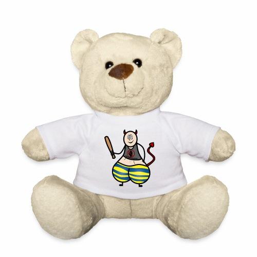 Devil No Touchies Charlie - Teddy Bear