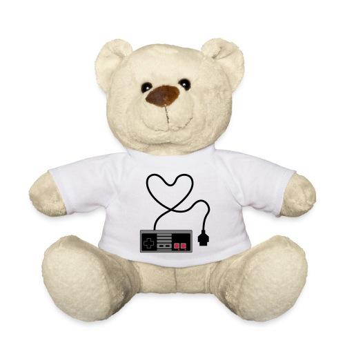 NES Controller Heart - Teddy Bear