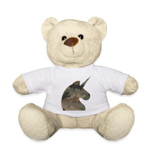 Einhorn T Shirt Männer Camouflage Army Style - Teddy