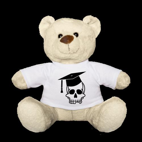Schädel mit Doktorhut - Geschenk Examen, Prüfung - Teddy
