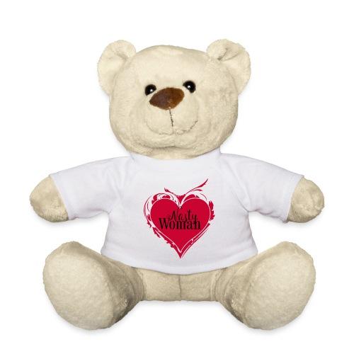 Nasty Woman ART Heart - Teddy