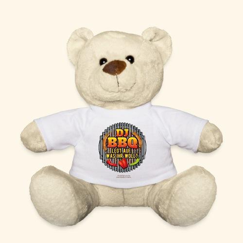 Grill T Shirt lustiger Spruch DJ BBQ - Teddy