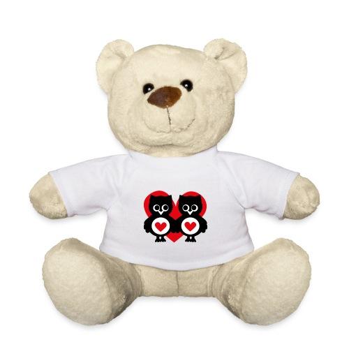 verliebte Eulen - Teddy