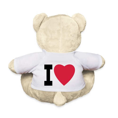 create your own I LOVE clothing and stuff - Teddy Bear