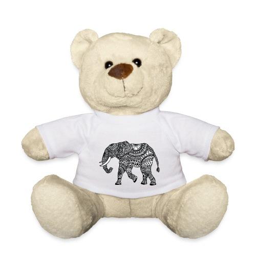 Elefant, gemustert - Teddy