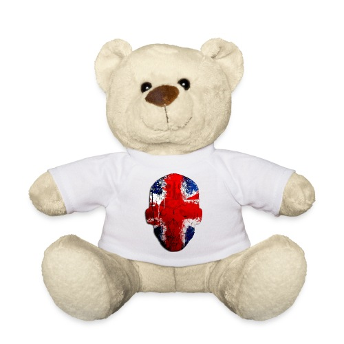 Borg recordings uk Union flag MetaSkull T Shirt - Teddy Bear