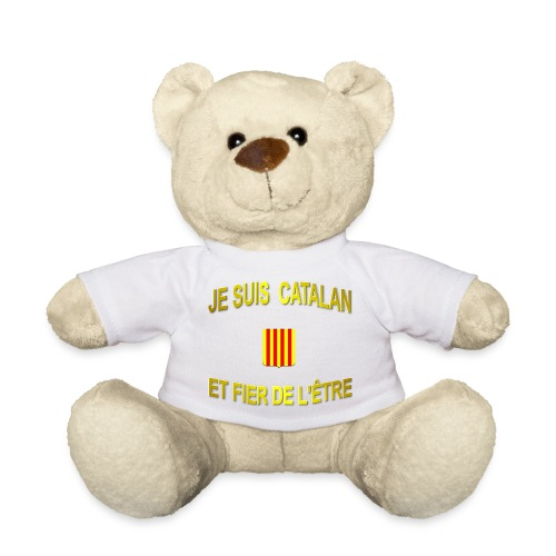 Tee-Shirt supporter du pays CATALAN - Nounours
