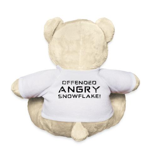 Black Negant logo + OFFENDED ANGRY SNOWFLAKE! - Teddybjørn