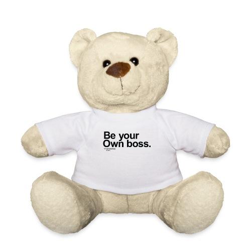 Boss in black - Teddy Bear