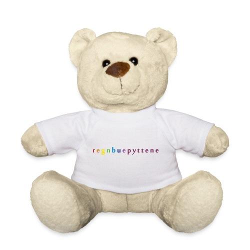 Regnbuepyttene Logo - Teddybjørn