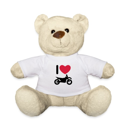 I love biking - Teddy