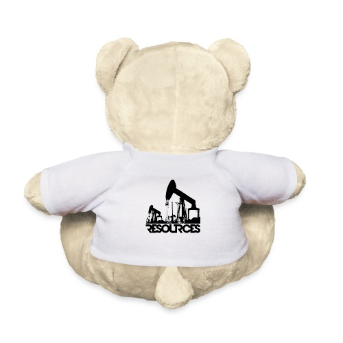 App Icon randlos schwarz - Teddy