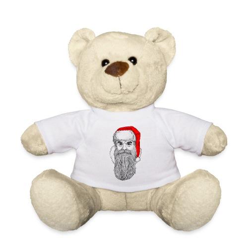 Weihnachtsmann mit roter Mütze - Teddy