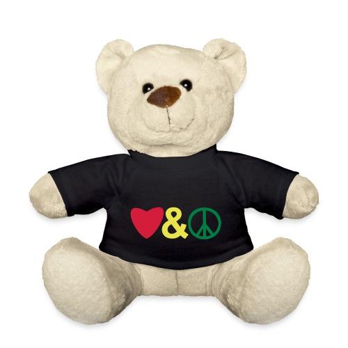 love and peace reggea style - Teddy