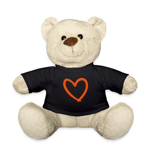 Heart Lines Pixellamb - Teddy