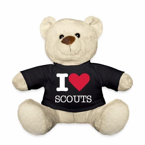 i love scouts - Nounours
