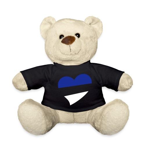 Men's Heart T Shirt - Teddy Bear