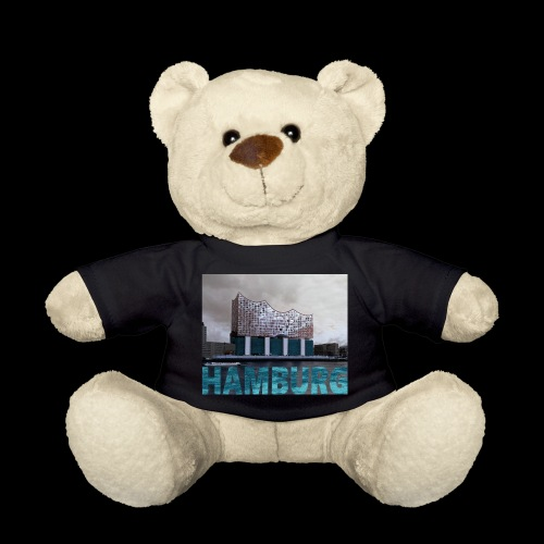 Elbphilharmonie | HAMBURG-Typo| Künstlermotiv - Teddy