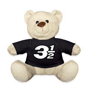 Three and a Half Logo - Teddy Bear