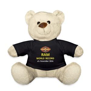 RWR gelb mit Datum (weiß) - Teddy