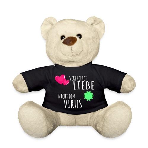 Virus Covid 19 Corona Liebe Shirt Spruch - Teddy