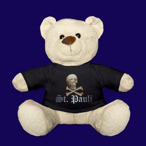 St. Pauli (Hamburg) Piraten Symbol mit Schädel - Teddy