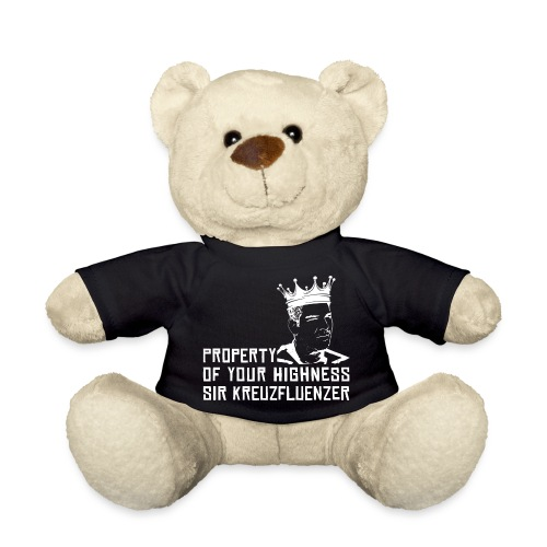 Property of your Highness WHITE - Teddy